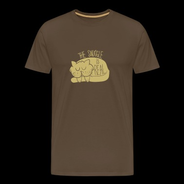 CATS | THE SNUGGLE - Men's Premium T-Shirt