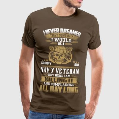 Navie Veteran - Men's Premium T-Shirt