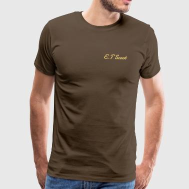 Et.Scoot - Herre premium T-shirt