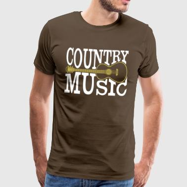 country music - Männer Premium T-Shirt