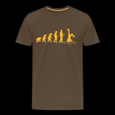Evolutionstheorie Breakdance - Männer Premium T-Shirt