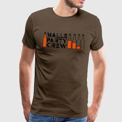 Malle Party Creqw - Premium-T-shirt herr