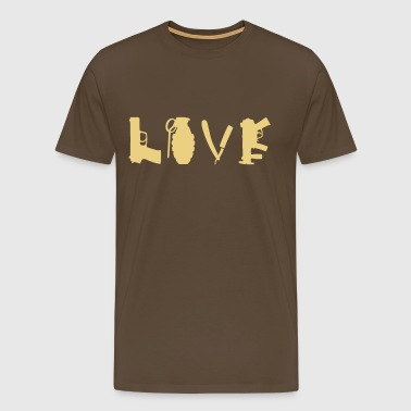love_war - T-shirt Premium Homme