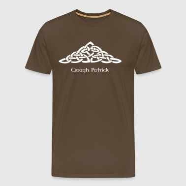 celtic_mountain - Men's Premium T-Shirt