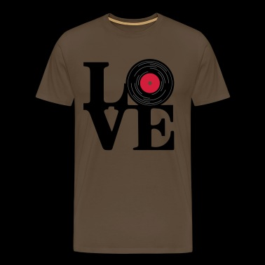 Love vinyl - Men's Premium T-Shirt