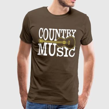 Country music - Men's Premium T-Shirt