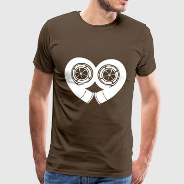 amour du turbocompresseur - T-shirt Premium Homme