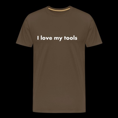 J'adore mes outils - J'adore mes outils - T-shirt Premium Homme