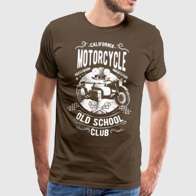 Club de Old School de California. Edad, probada, fresco. - Camiseta premium hombre