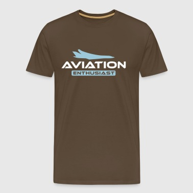 Aviation Enthusiast - Männer Premium T-Shirt
