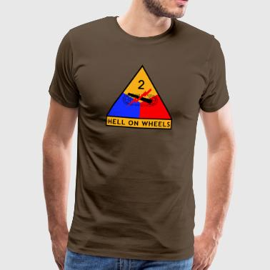 2nd_Armored_Division - T-shirt Premium Homme