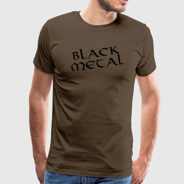 Black metal - Premium-T-shirt herr