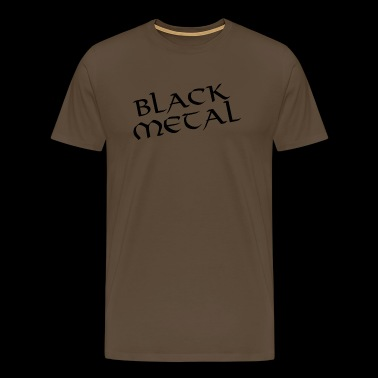 Black metal - Men's Premium T-Shirt