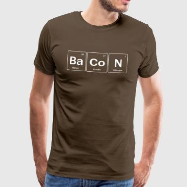 Bacon Periodic Table - Men's Premium T-Shirt