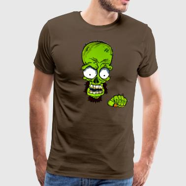 Ghetto näve Monster II - Premium-T-shirt herr