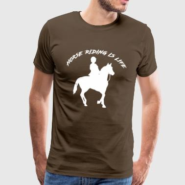 Horse Riding - limited edition - Männer Premium T-Shirt