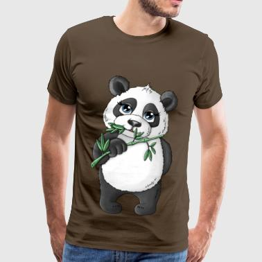 Panda Alan - Men's Premium T-Shirt
