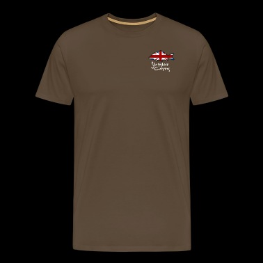 Shropshire Carpers with White text - Men's Premium T-Shirt