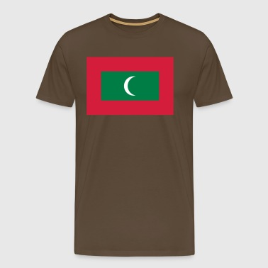 maldives flag - Men's Premium T-Shirt