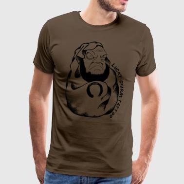 Lucky Charm Tattoo - Premium T-skjorte for menn