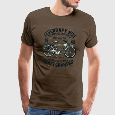Klassisk Cykel: 1948 Retro Bike Shirt - Herre premium T-shirt