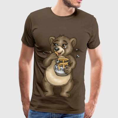 Brown bear Uncle Simson - Men's Premium T-Shirt