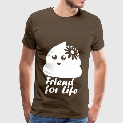 friendforlife wite - Premium T-skjorte for menn