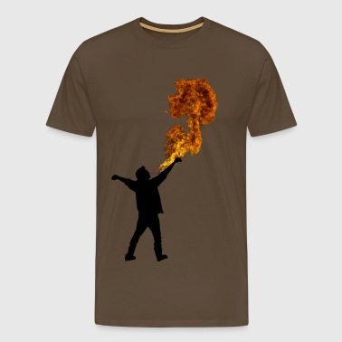 Fire Breathe - Men's Premium T-Shirt