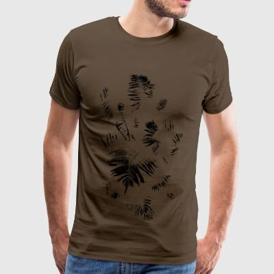 Fern (Monochrome) - Men's Premium T-Shirt