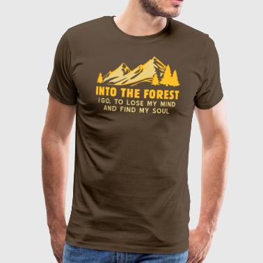 into the forest - Männer Premium T-Shirt