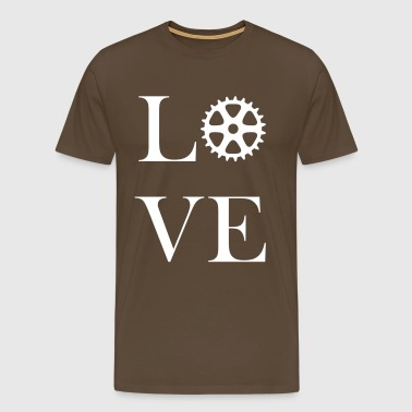 Love for cycling - Men's Premium T-Shirt