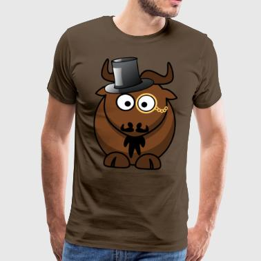 Marco the wildebeest - Men's Premium T-Shirt