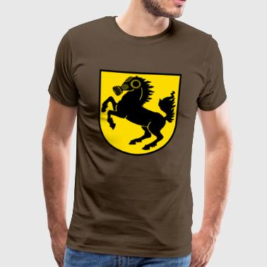 Stuttgart Crest particulate City - Men's Premium T-Shirt