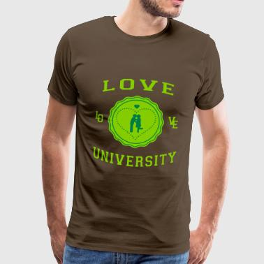 Love University - T-shirt Premium Homme