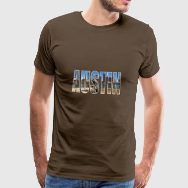 Austin USA - Men's Premium T-Shirt