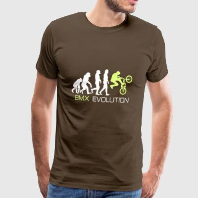 Evolution - BMX Dirt Bike Shirt Gift - Premium-T-shirt herr