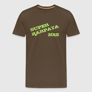 Super Karpata 2018 - Premium T-skjorte for menn