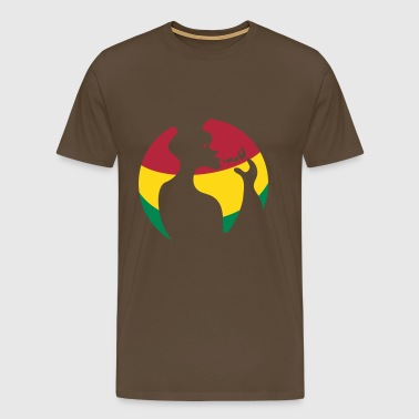 Reggae the World - Men's Premium T-Shirt