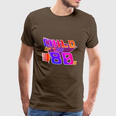 Child often the 80s - Men's Premium T-Shirt