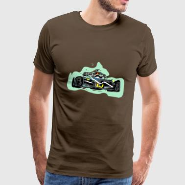 Racing - Premium-T-shirt herr