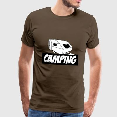 Camping - The pure passion - Men's Premium T-Shirt