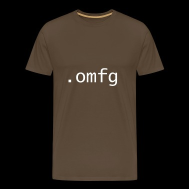 omfg - Oh my fucking god - Men's Premium T-Shirt