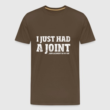 Hip Surgery Gift Funny Joint Replacement T-Shirt - Men's Premium T-Shirt