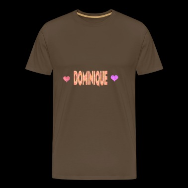 Dominique - T-shirt Premium Homme