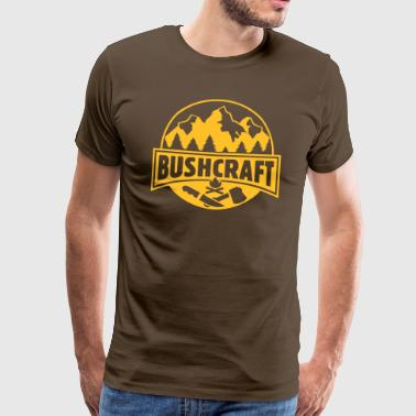 Bushcraft & Survival - Männer Premium T-Shirt