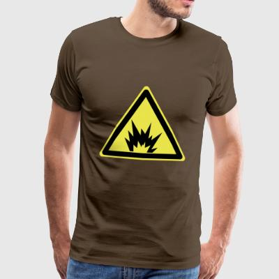 Attention explosive - T-shirt Premium Homme