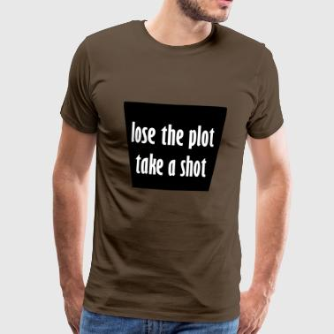 take a shot - Men's Premium T-Shirt