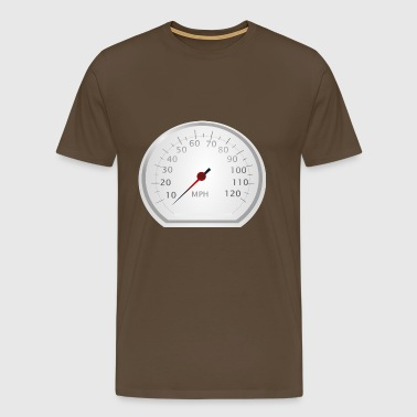 speedometer - Men's Premium T-Shirt