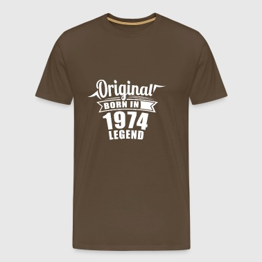 1974 Original Gift Birthday - Men's Premium T-Shirt