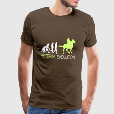 Horse T-Shirt Gift for rider and rider - Men's Premium T-Shirt